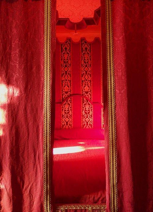 Château de Chenonceau, rouge