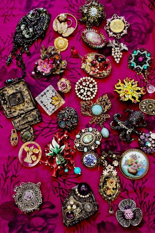 ISÉE | Isabelle Mariana - Broches Textiles - Les broches de