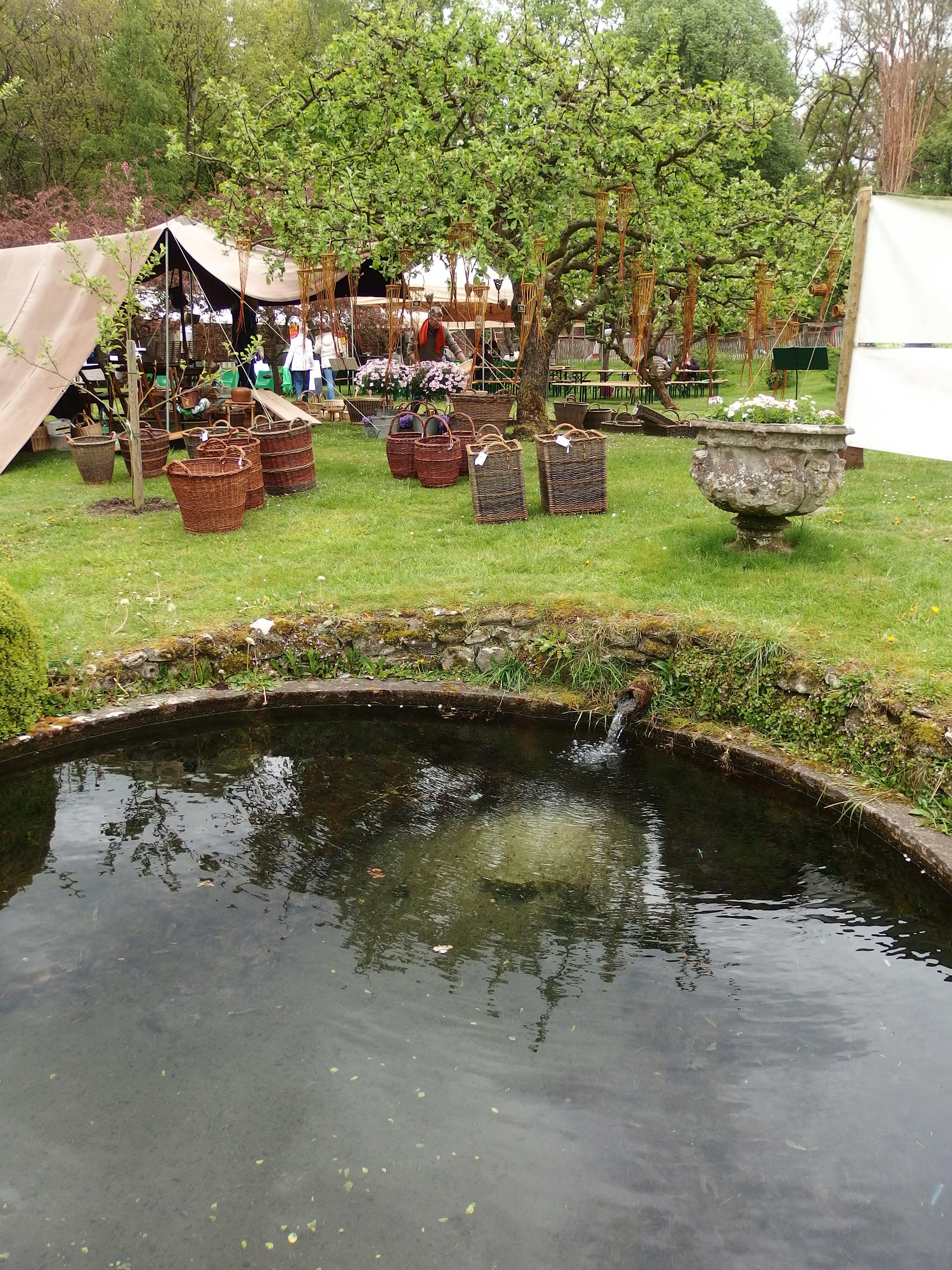 La source des Jardins d'Aywiers